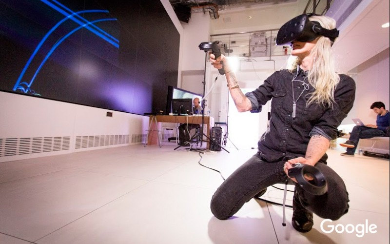 Google Unveils The New Virtual Reality 3D Paintbrush